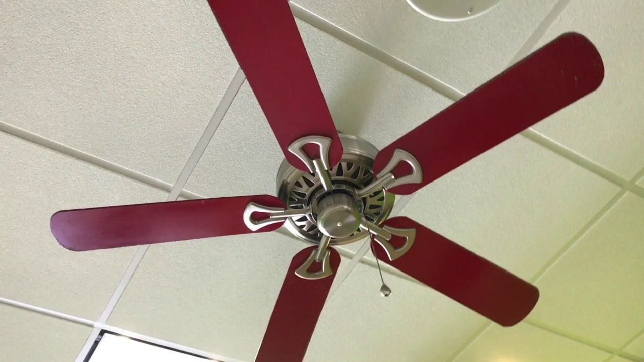52 U0026quot  Harbor Breeze Builder Ii Ceiling Fans In A Flame