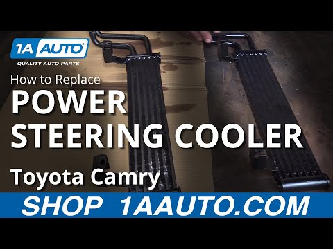 How to Install Replace Power Steering Oil Cooler 2002-08 Dodge Ram 1500 BUY AUTO PARTS AT 1AAUTO.COM