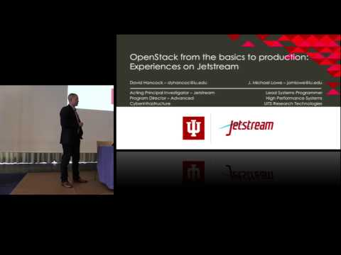 OpenStack from the Basics to Production Experiences on Jetstream