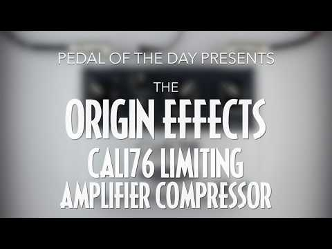 Origin Effects Cali76 Standard Limiting Amplifier Compressor Effects Pedal Demo Video