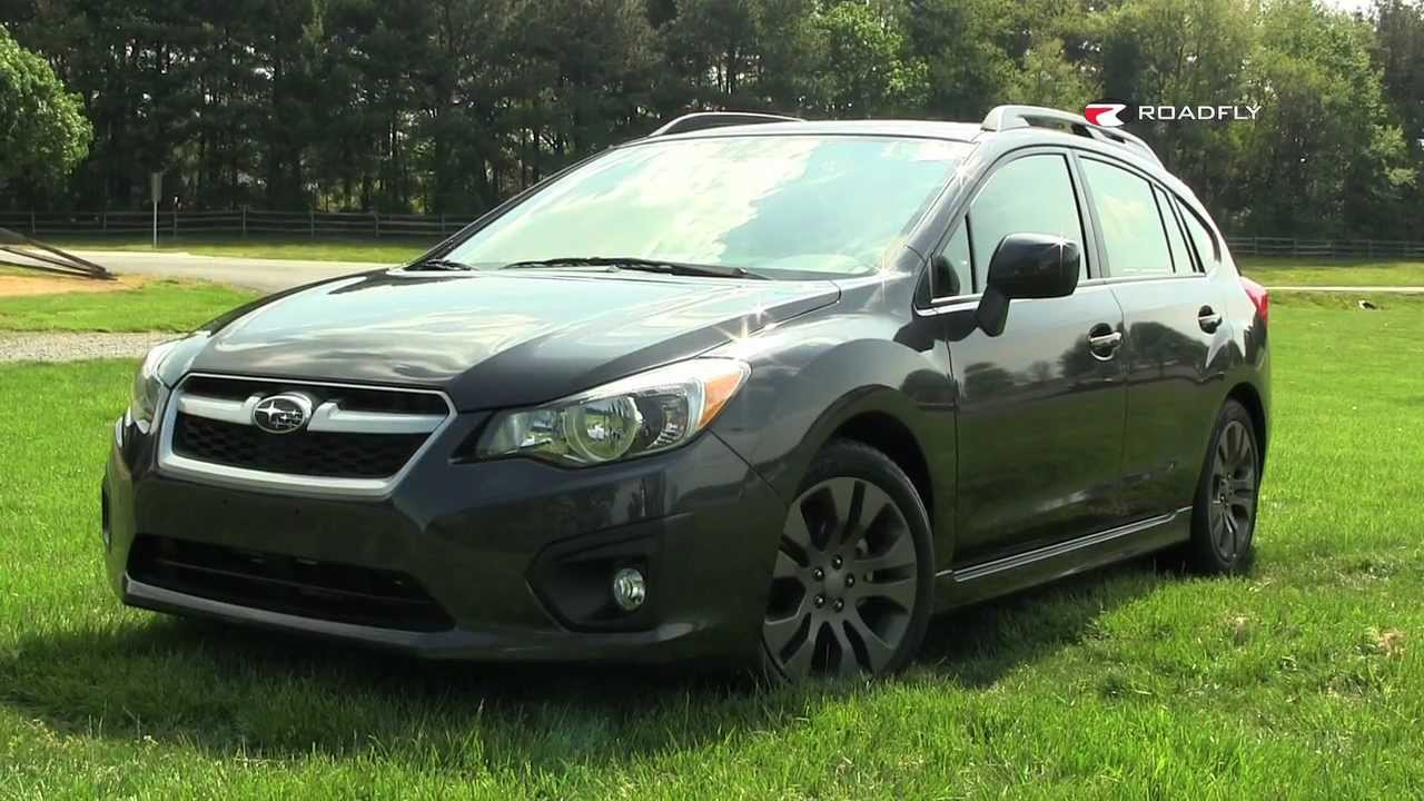 2012 subaru impreza test drive & car review with emme hall