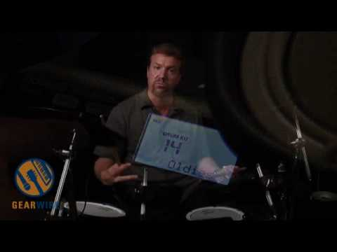 Roland TD-4SX Video Demo: The Look, The Feel, Of V-Drums