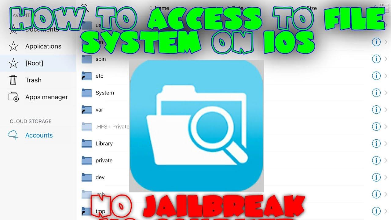 Install FilzaEscaped[No Jailbreak] [No Computer] [No Cydia] [Works On IOS  11 2 5] by iFahim