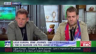 After Foot du jeudi 19/10 – Partie 2/3 - Débrief de OM/Guimaraes (2-1)