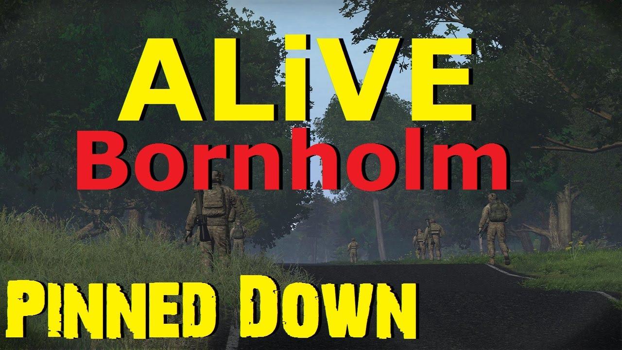 ARMA 3 ALiVE (TrackIR) - Bornholm - Pinned Down - YouTube