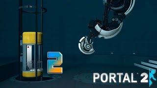 Portal 2 прохождение на геймпаде [60 fps] часть 2 Кто научил Глэдос сарказму?