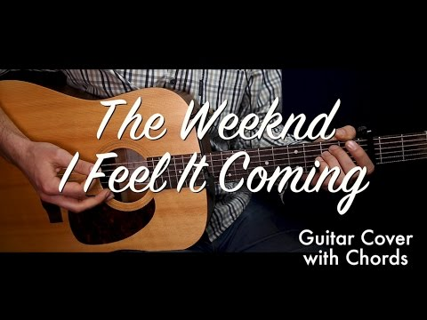 The Weeknd I Feel It Coming Guitar Coverguitar Lessontutorial