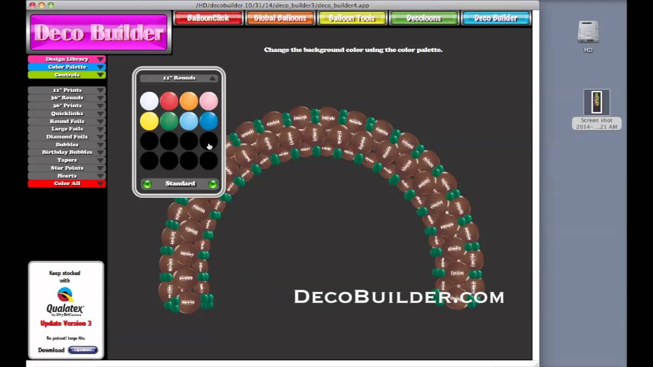Deco Builder Introduction Balloon Software