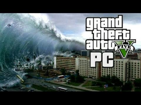 GTA V - The End Of Los Santos 1: Tsunami Tidal Wave