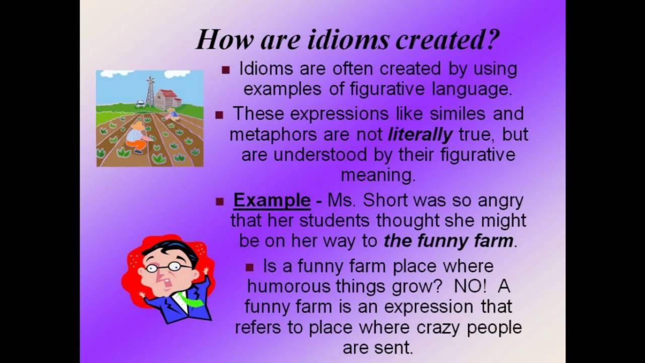 Idioms And Clicheswmv Youtube