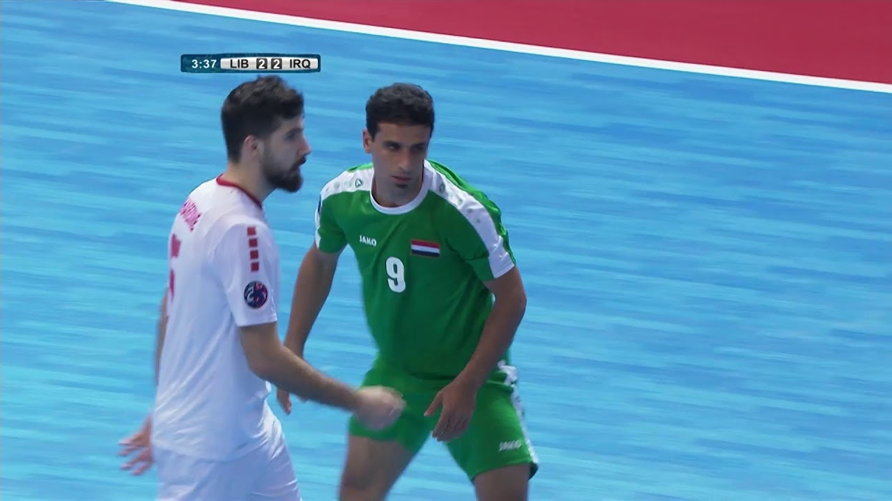Video: Futsal Liban vs Futsal Iraq