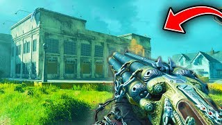 BLACK OPS 4 MOB OF THE DEAD GAMEPLAY: Full Map Tour! (NEW Blackout Alcatraz Map)