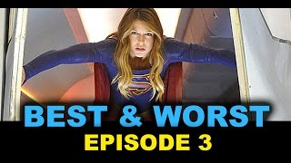 Supergirl Episode 3 Review aka Reaction - Fight or Flight, Reactron - Beyond The Trailer