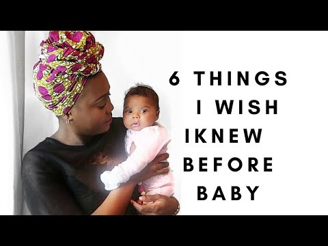 6 THINGS I WISH I KNEW BEFORE BECOMING A MOTHER