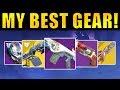 Destiny 2: MY BEST GEAR! - New Exotics! God Rolls! Best Perks!   Forsaken