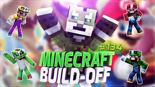 Minecraft Build Off #134 - MARIO PARKOUR!