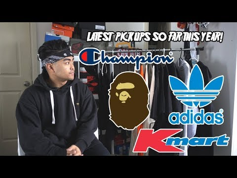 Recent Pickups (Champion, Bape, Adidas, VFILES & More!)