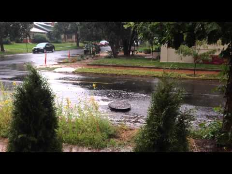Storm Water Launches Manhole Cover