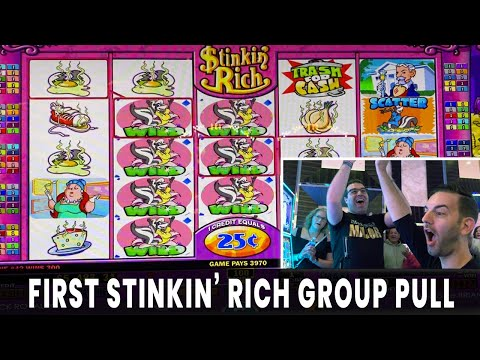 🤑 $5200 GROUP PULL 💰 $25/spin Getting STINKIN RICH 🧀 Hard Rock Atlantic City 🎹 #ad