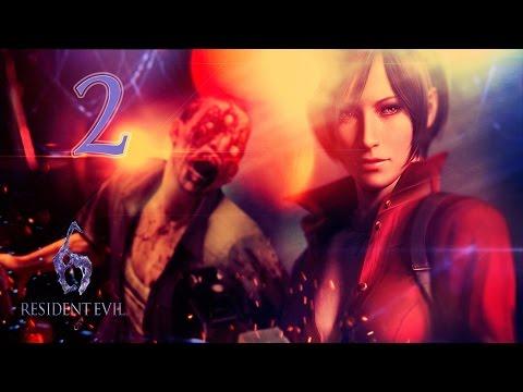 Resident Evil 6 Co-op (Ада Вонг) - #2 [Подлодка -- Торпедный отсек]