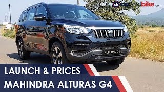 Mahindra Alturas G4 Launched In India, Prices and Specs | NDTV carandbike