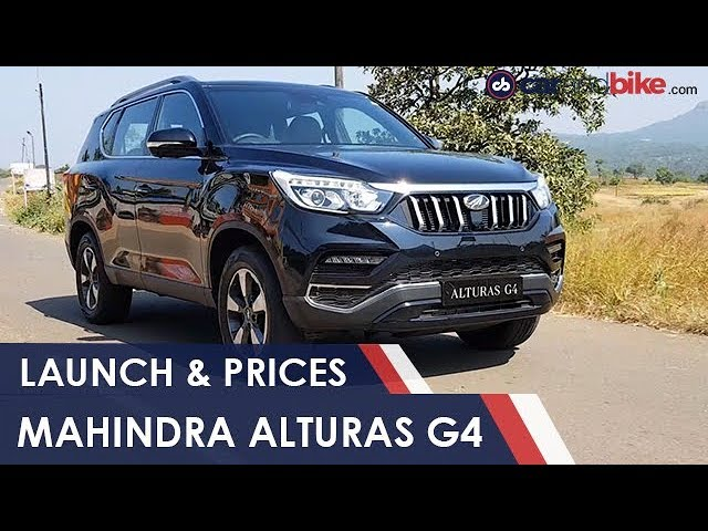 Mahindra Alturas G4 Launched In India Prices And Specs Ndtv Carandbike Youtube