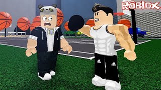 Escape from the Sports Center!! Become Roblox With Panda Fit Obby!