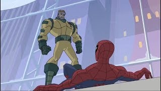 Spectacular Spider-Man (2008) Spider-Man vs Colonel Jupiter part 1/2