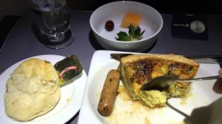 United Airlines 787-9 Dreamliner IAH-LAX First Class