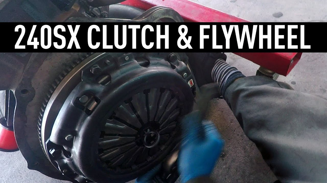 Replacing a Clutch & Flywheel - Nissan 240sx Tech Tips