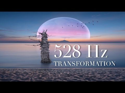 Healing 528Hz Solfeggio Sleep Music, Positive Transformation, Love Frequency, Awaken Inner Strength