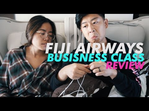 FIJI AIRWAYS BUSINESS CLASS REVIEW