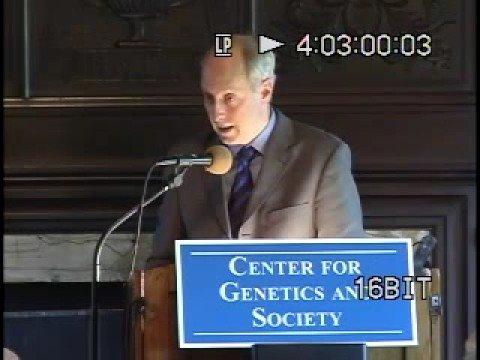 Harvard Prof. Michael Sandel on Human Genetic Modification, Berkeley, CA, 7 May 2007