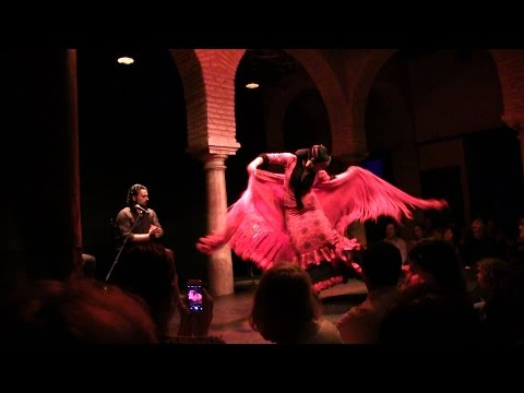 Flamenco show at Flamenco Museum Seville 1 nov 2014