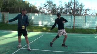 Теннис. Удар справа. Часть 1.