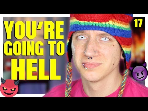 Do Gays Go To Hell? | Homophobic Hate Comments 17 | Roly