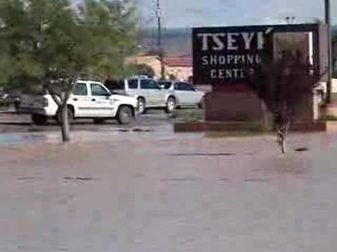 navajo chinle flood