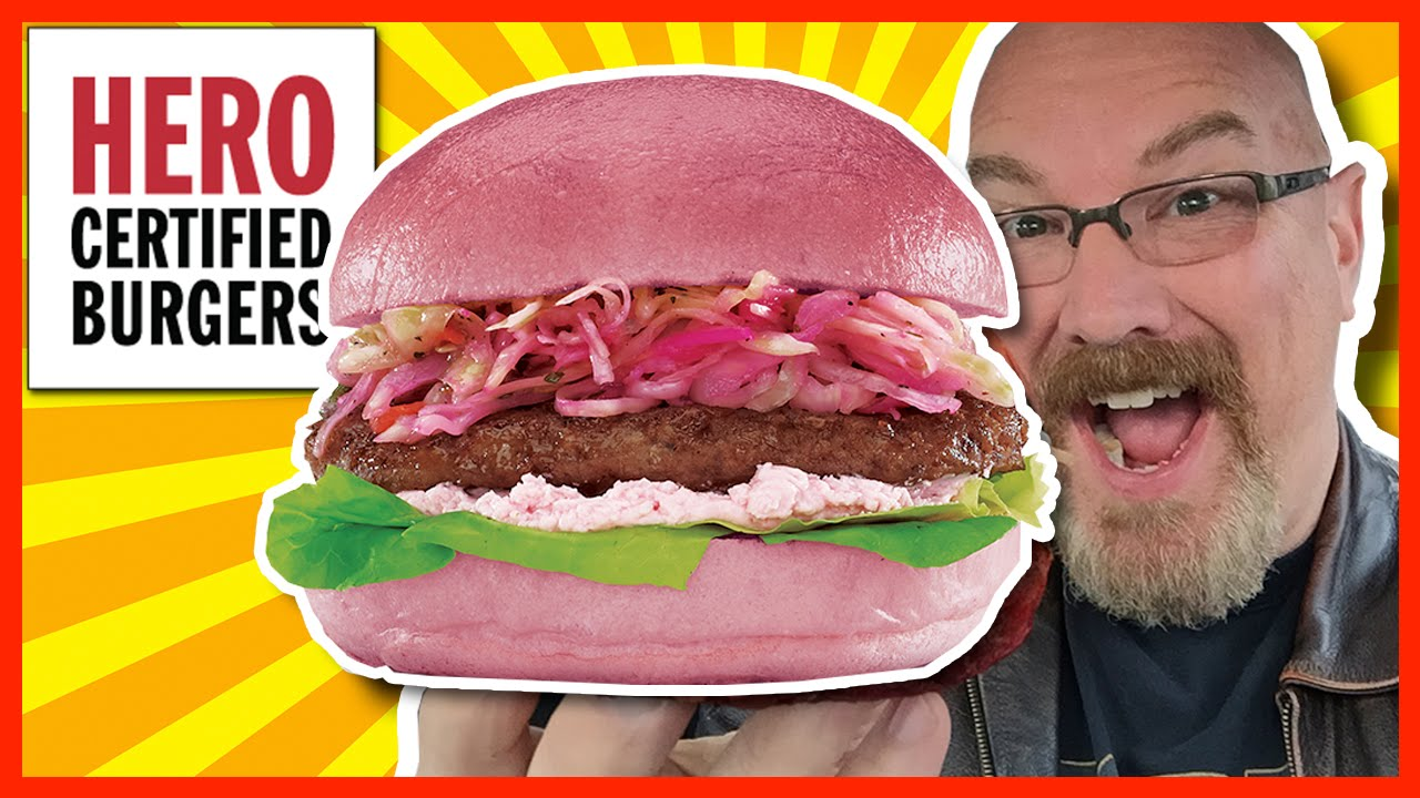 Think Pink Burger - Hero Certified Burger - Supporting the Canadian Breast Cancer Foundation