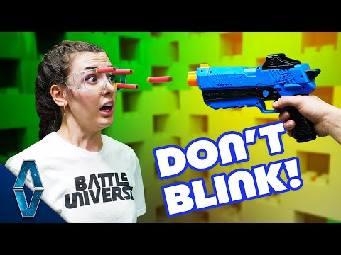 NERF Don't Blink Challenge!