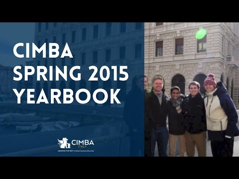 Study Abroad Yearbook - CIMBA Spring 2015