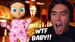 Demon Baby in Pink Why Im Not Ready To Have A Daughter | Free Random Games