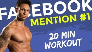 Nr 1.Facebook-Mention MachDichKrass Bodyweight-workout 20min traning mit Daniel Aminati