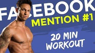 Nr 1.Facebook-Mention MachDichKrass Bodyweight-workout 20min traning mit Daniel Aminati