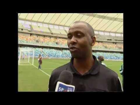 Tour Durban's dramatic Mabhida Stadium
