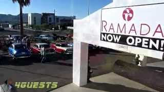 Classic Cars at new Ramada Inn on Route 66 Kingman AZ