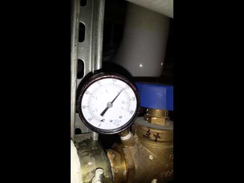 Mid-rise hot water return pressure