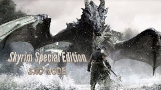 Скачать Skyrim Special Edition SAO Mode Episode 1 Escaping Helgen