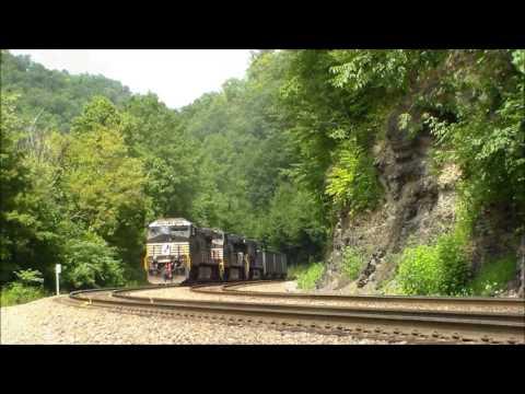 Trains on The Buchanan Branch 2016