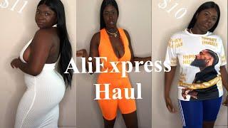 AliExpress Try-On haul