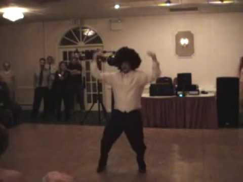 Wedding dance Strokin' Clarence Carter Colt,kim